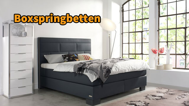 sortiment boxspringbetten m bel arenz. Black Bedroom Furniture Sets. Home Design Ideas