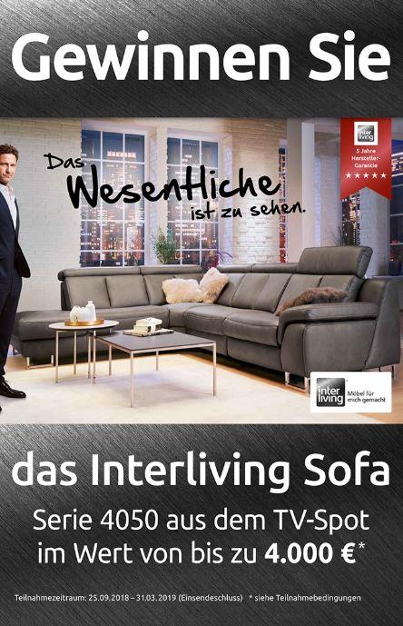 interliving gewinnspiel m bel arenz. Black Bedroom Furniture Sets. Home Design Ideas
